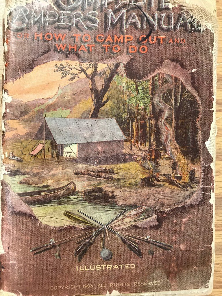 Front cover of The Complete Campers Manual published by R.H. Armbruster