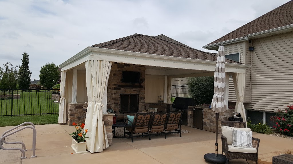 Custom Pool-Side Gazebo Enclosure