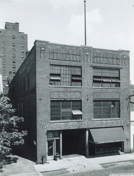 Armbruster Manufacturing's former downtown Springfield building. This factory was our main headquarters until we moved South of Springfield in the late 70s.