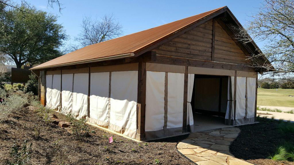 Pavilion Enclosure