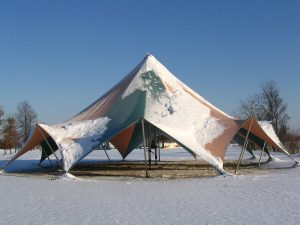Tension Tent, Snow Load