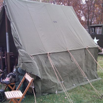 WWII Small Wall Tent