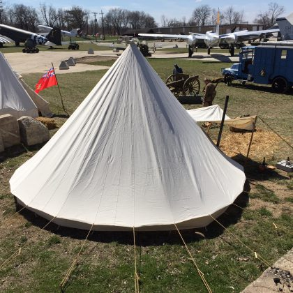 WWI Conical French Tent