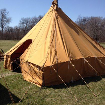 WWI Pyramidal Tent