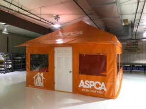 ASPCA Field Operation / Office Tent, with Graphics