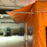 ASPCA Field Operation Tent, Awning Detail