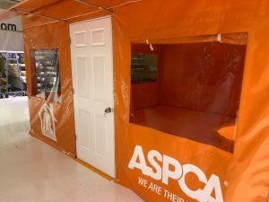 ASPCA Field Operation / Office Tent, Door and Window