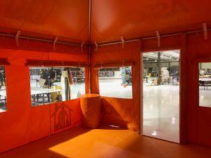 ASPCA Interior of Field Operation Tent