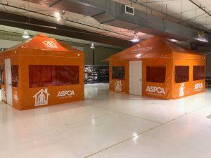 ASPCA Field Operation Tents, Exterior