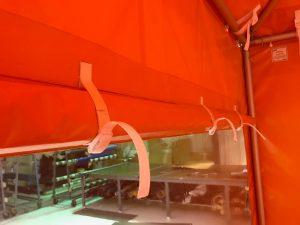 ASPCA Tent, Window Detail