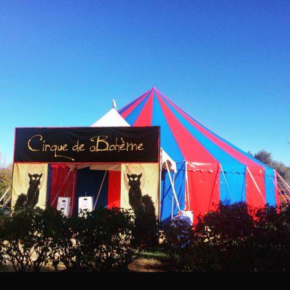Circus Tent, Round, Cirque Boheme