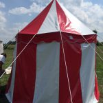 Circus Tent, Changing Tent, Small, Red and White