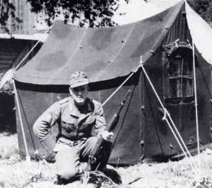 German World War II Large Staff Tent