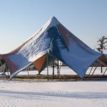 TensionTent in Snow