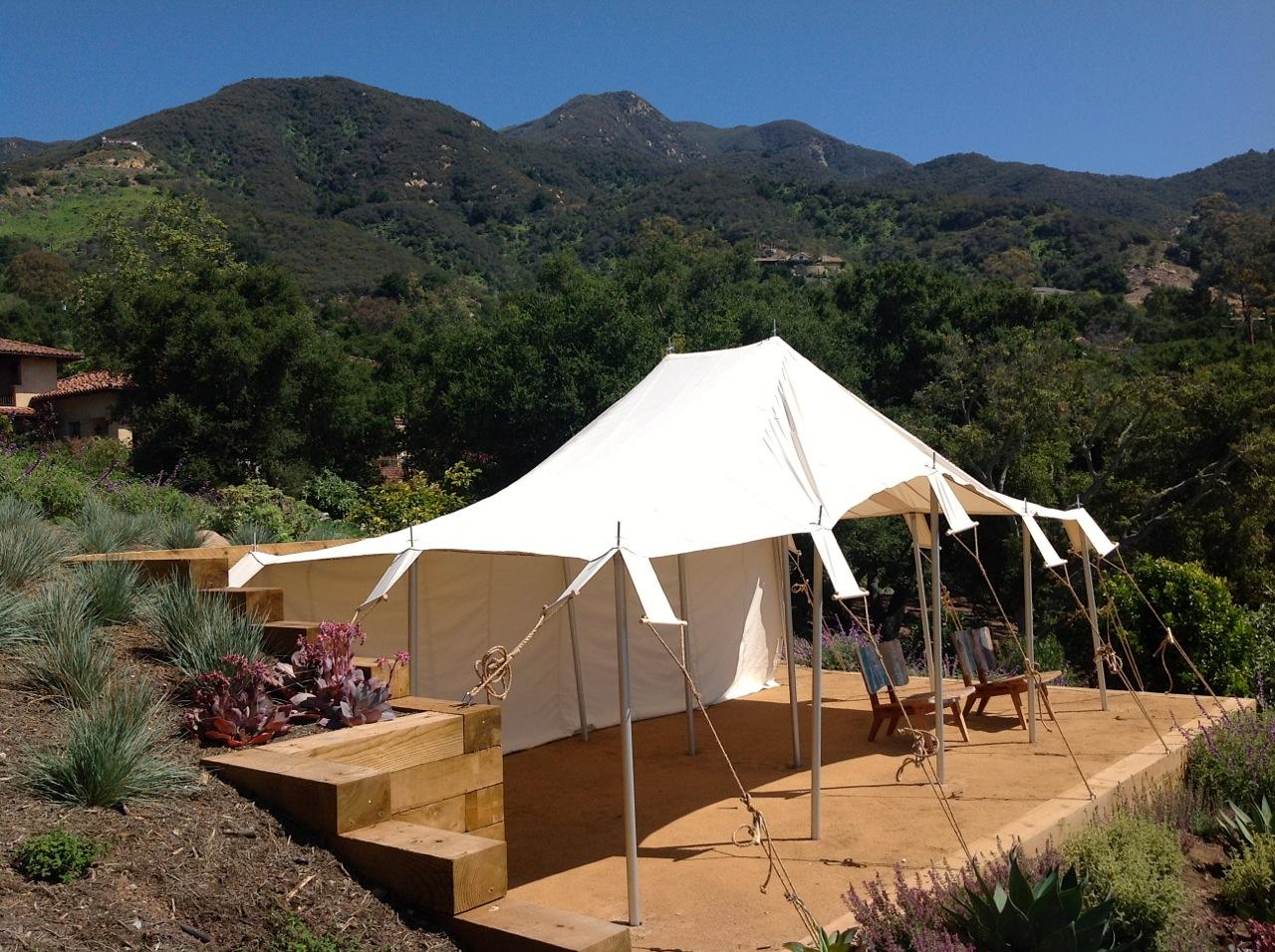 Bedouin tent, Santa Barbara, California