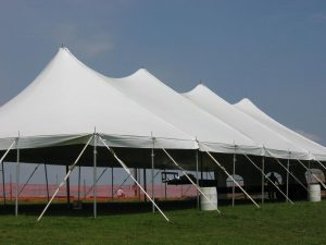 40ft EuroTents – one of the most popular selling Wedding/Party tents