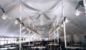 EuroTent 60'x200' Marriott, Chicago, Illinois, Interior Decorated, c. 2002