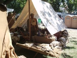 Period World War I small Tent Fly
