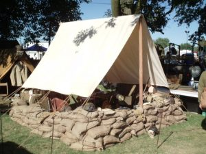 World War I Tent Fly