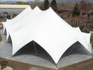 TensionTent, aerial view, Salt Lake City, Utah, Western Garden Center
