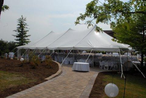 40×80 EuroTent – Elegant Seasonal Wedding Tent