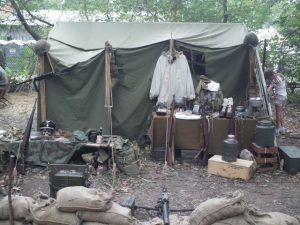 World War II (WWII) 1942 Command Post Tent