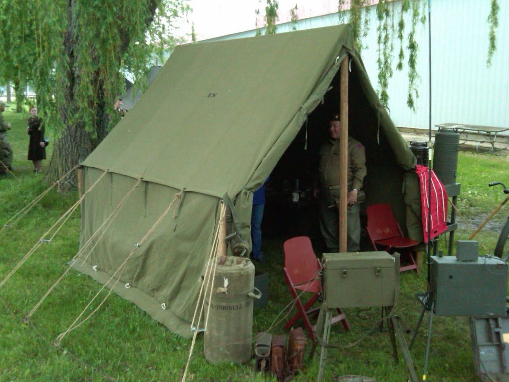 World War II (WWII) Wall Tent Small Perfect for Displays (e.g. at Anzio Express Event)
