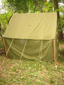 World War II (WWII) Small Wall Tent